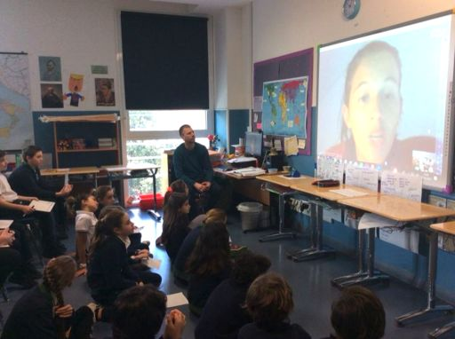"Inspiring the next generation of scientists: Grade 6 ""Skype a Scientist"""