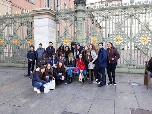 Grade 9 thoroughly enjoy themselves in Turin