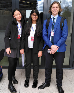 RIS students reflect on their NACE MUN experience