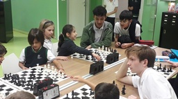 RIS Chess Club for all ages!