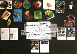 Year 8 surreal sculptures on the theme of 'Dreams'