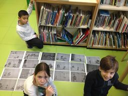 Ordering a story - activity in Year 5