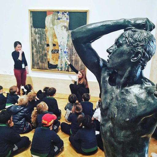 Year 2 visit the National Gallery of Modern Art