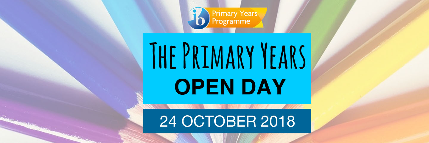 Primary Years Open Day banner